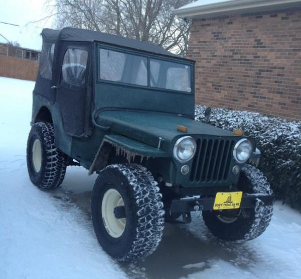 1956 willys dj 3a information and photos momentcar