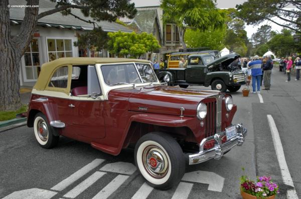 Willys Jeepster 1949 #3