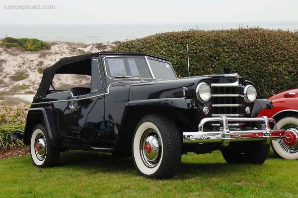 Willys Jeepster 1950 #2