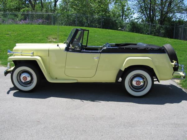 Willys Jeepster 1950 #3