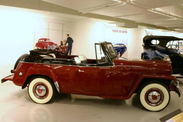Willys Jeepster 1950 #4