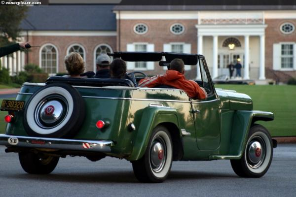 Willys Jeepster 1950 #5