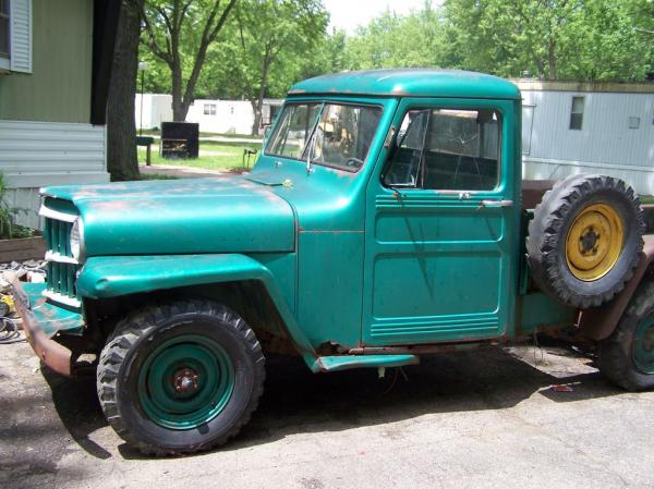 Willys Pickup 1958 #1