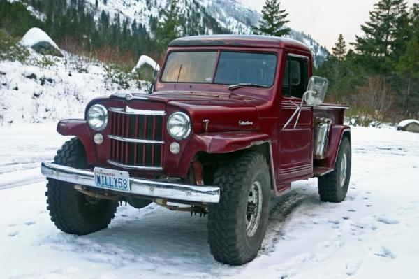 Willys Pickup 1958 #2