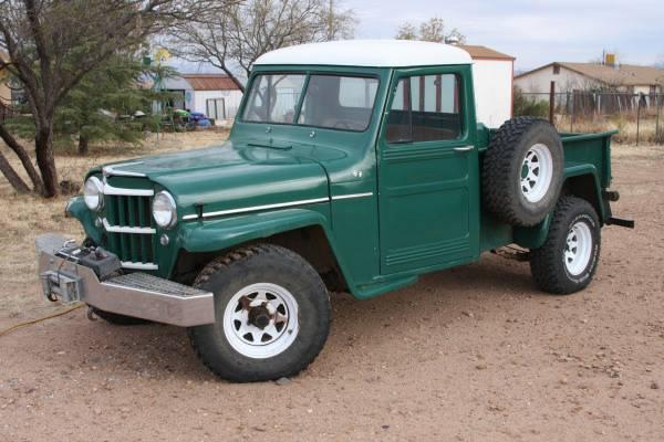 Willys Pickup 1958 #4