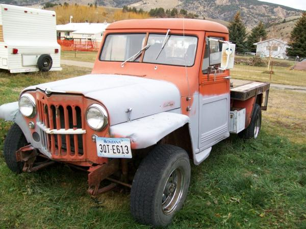 Willys Pickup 1959 #2